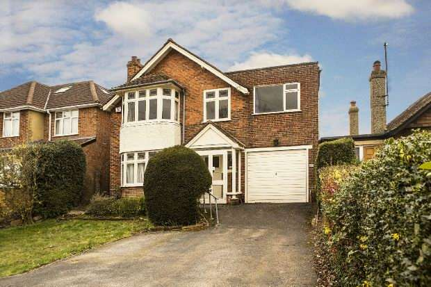 4 Bedrooms Detached House for sale in Wokingham Road, Earley, Reading