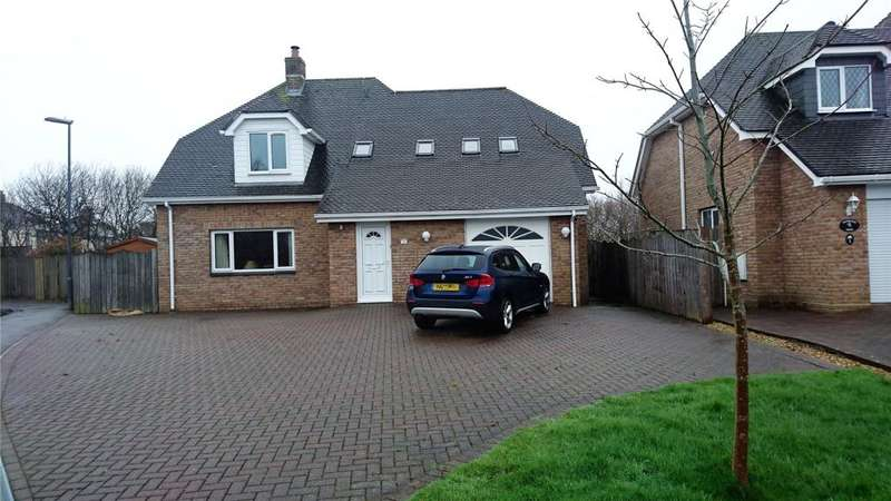 4 Bedrooms Detached House for sale in Gewans Meadow, St. Austell, Cornwall