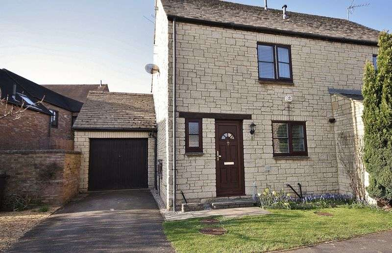 3 Bedrooms Semi Detached House for sale in IDBURY CLOSE, Deer Park, Witney OX28 5FE