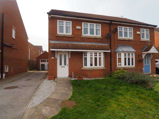 3 Bedrooms Semi Detached House for sale in Ravenser Court, Hedon, HU12 8GJ