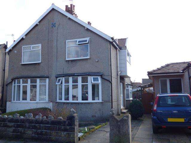 2 Bedrooms Semi Detached House for sale in Ruskin Drive, Bare, Lancashire, LA4 6EZ