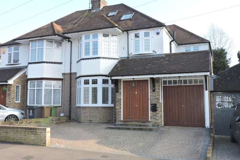 5 Bedrooms Semi Detached House for sale in Priory Gardens, Luton, Bedfordshire, LU2 7DP