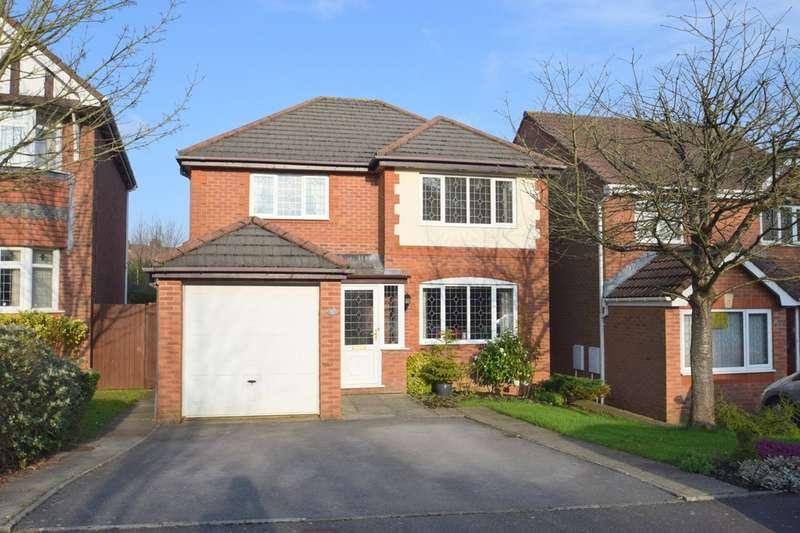4 Bedrooms Detached House for sale in 30 Llwyn Y Groes, Broadlands, Bridgend, Bridgend County Borough, CF31 5AJ