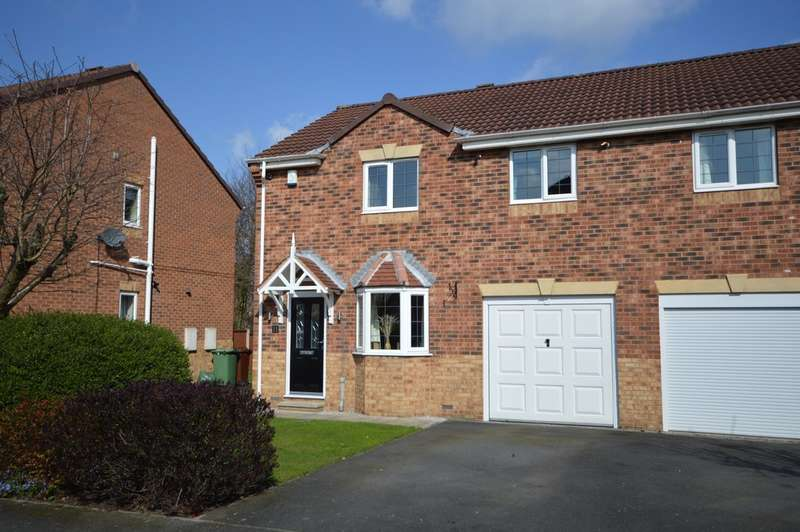 3 Bedrooms Semi Detached House for sale in Hammerton Farm Avenue, Ryhill, Wakefield