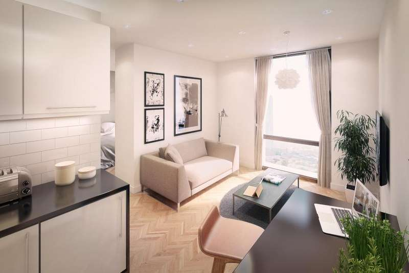 Studio Flat for sale in Studio,X1 The Campus, 30 Frederick Road, Salford, Manchester M6