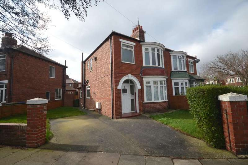 3 Bedrooms Semi Detached House for sale in Durham Road, Redcar TS10