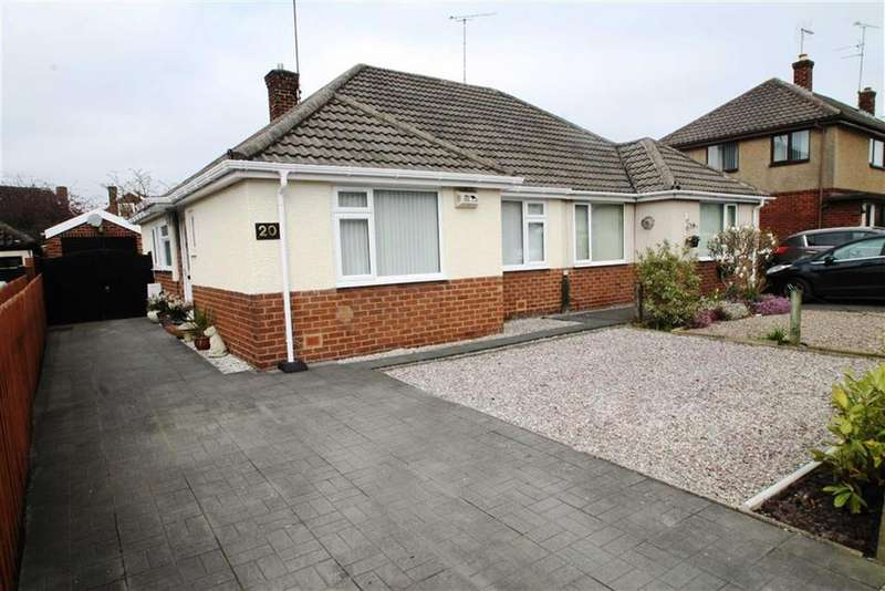 2 Bedrooms Semi Detached Bungalow for sale in Thornton Drive, Upton