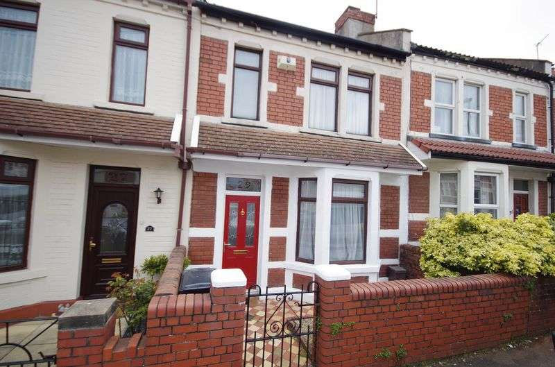 3 Bedrooms Terraced House for sale in Upper Sandhurst Road, Brislington, Bristol