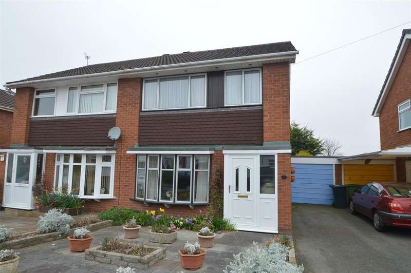 3 Bedrooms Semi Detached House for sale in 6 Dale Road, Monkmoor, Shrewsbury SY2 5TE