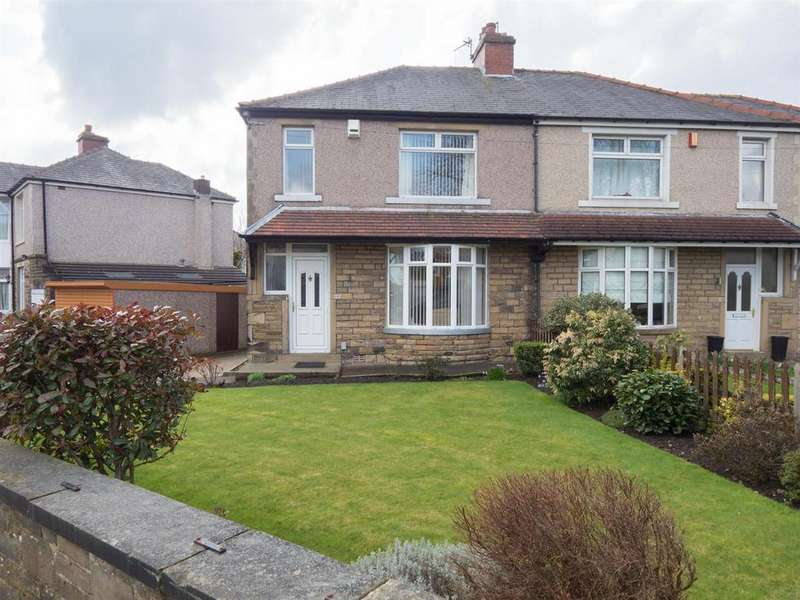 3 Bedrooms Semi Detached House for sale in Norman Ave, Eccleshill, Bradford BD2 2NA