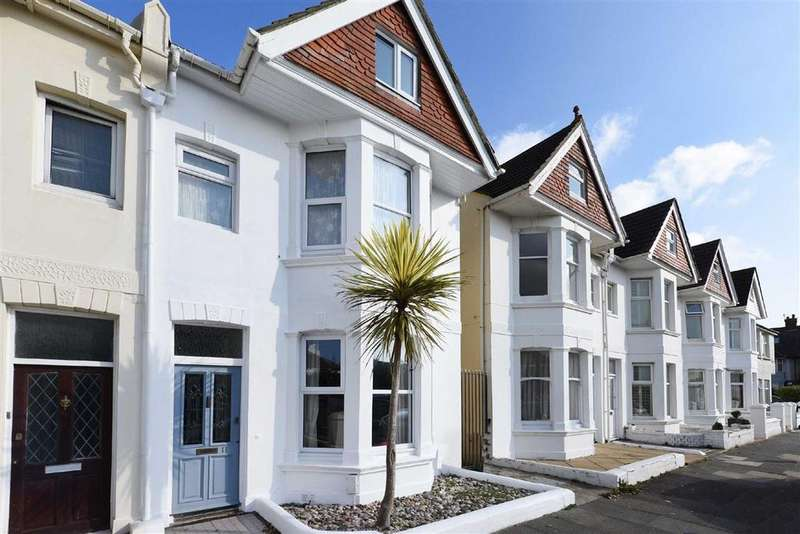 4 Bedrooms Semi Detached House for sale in Marine Avenue, Hove