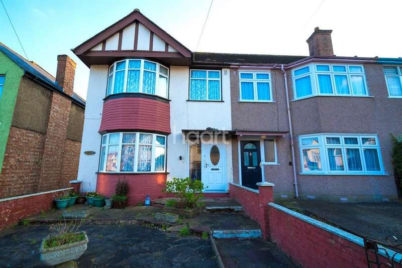 3 Bedrooms End Of Terrace House for sale in Granville Road, Oak Farm