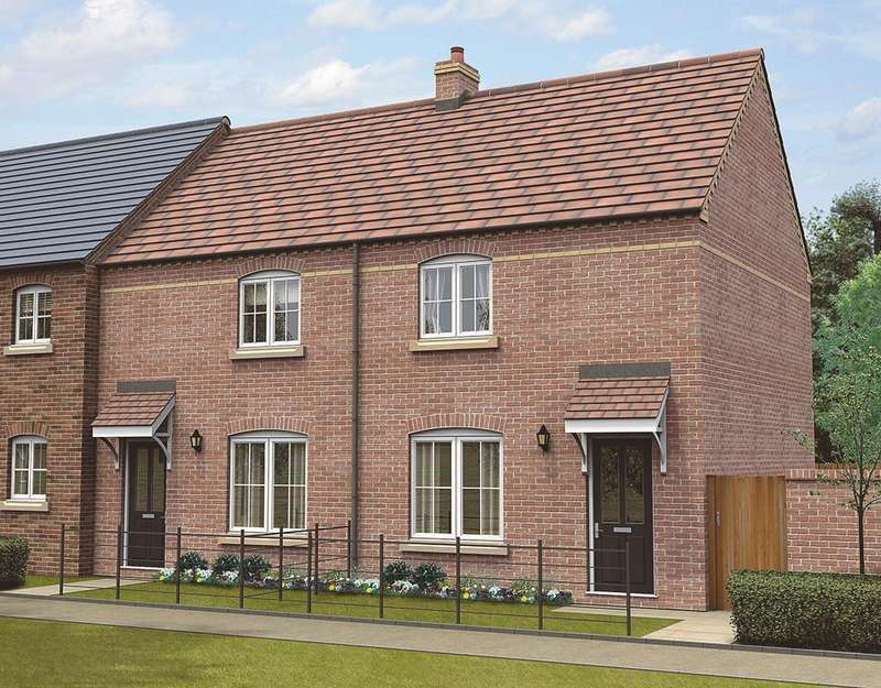 2 Bedrooms Town House for sale in Plot 24, The Gramercy, The Swale, Corringham Road