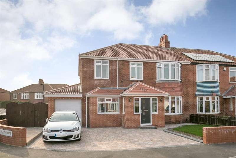 5 Bedrooms Semi Detached House for sale in Gretton Place, High Heaton, Newcastle upon Tyne