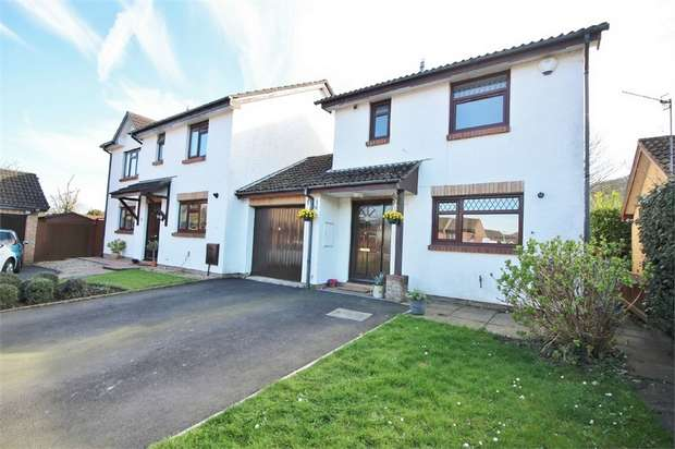 3 Bedrooms Detached House for sale in Briardene, Llanfoist, ABERGAVENNY, Monmouthshire