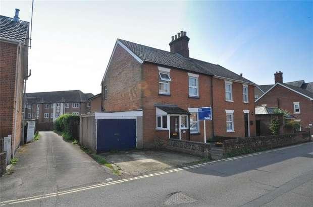 4 Bedrooms Semi Detached House for sale in New Borough Road, WIMBORNE, Dorset