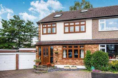 4 Bedrooms Semi Detached House for sale in Newlands Close, Hutton, Brentwood, Essex