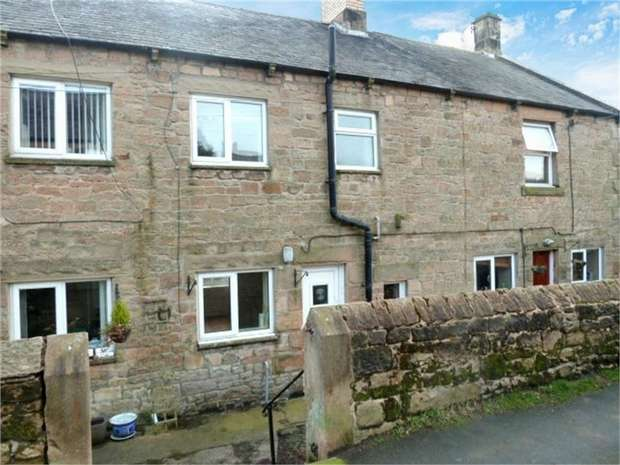 2 Bedrooms Terraced House for sale in Jubilee Terrace, Fourstones, Hexham, Northumberland