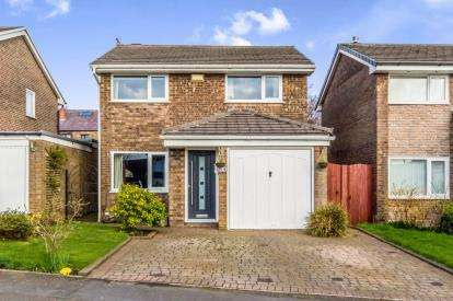 4 Bedrooms Detached House for sale in Greenbarn Way, Blackrod, Bolton, Greater Manchester