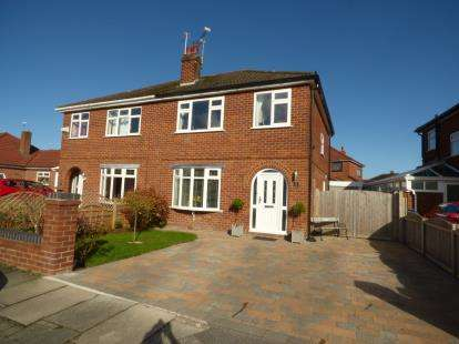 3 Bedrooms Semi Detached House for sale in Windermere Avenue, Chester, Cheshire, CH2