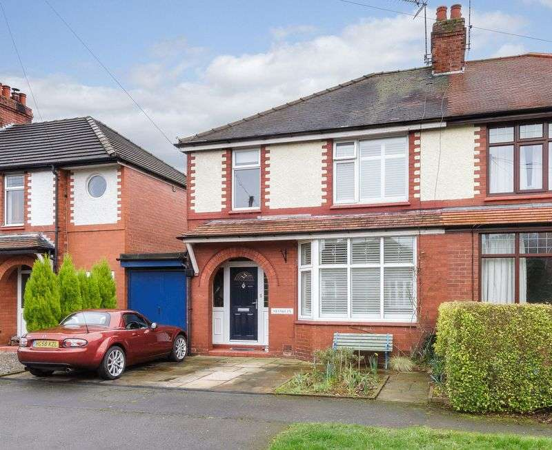 3 Bedrooms Semi Detached House for sale in Snowdon Street, Barnton, Northwich