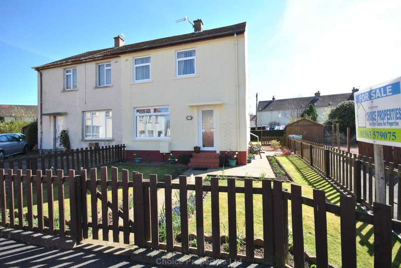 2 Bedrooms End Of Terrace House for sale in Blackhouse Place, Ayr, KA8 0HP