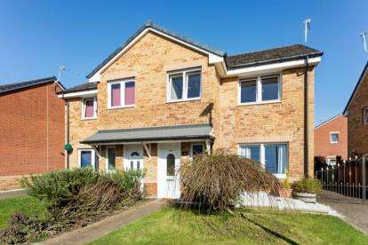 3 Bedrooms Semi Detached House for sale in Osprey Road, Paisley, Renfrewshire