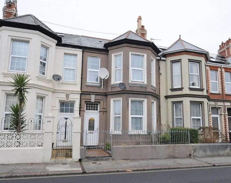 4 Bedrooms Terraced House for sale in Mount Gould Road, Plymouth. 4 Bedroom Family Home