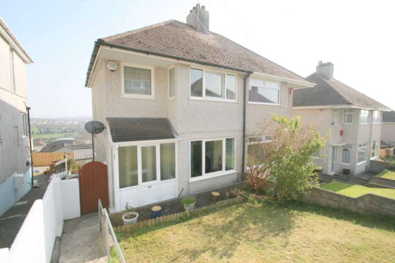 3 Bedrooms Semi Detached House for sale in Church Way, Weston Mill, Plymouth