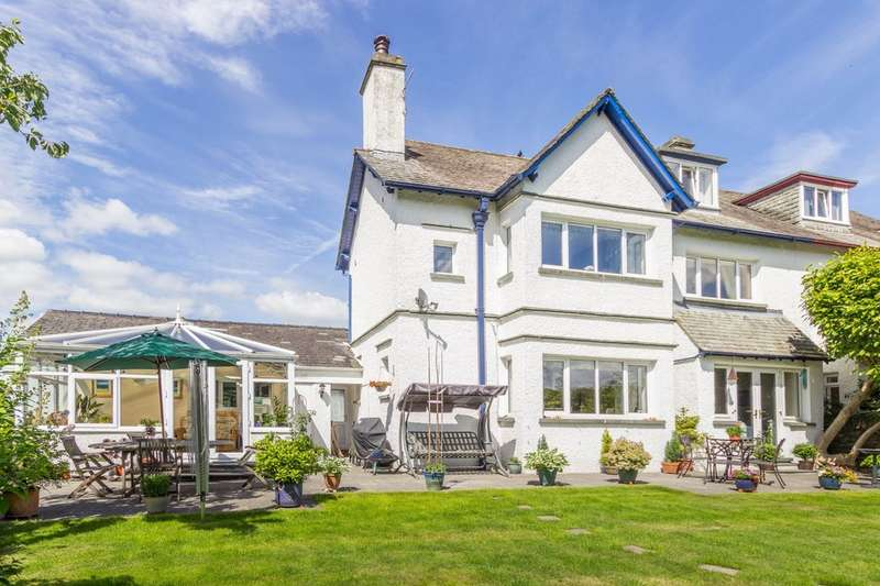 5 Bedrooms Semi Detached House for sale in 1 Wansfell Road, Ambleside