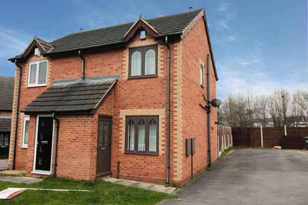 2 Bedrooms Semi Detached House for sale in Kennington Grove, Doncaster, South Yorkshire, DN12 1SX
