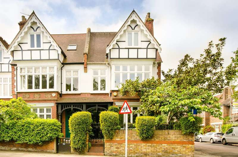 6 Bedrooms Semi Detached House for sale in Station Road, Barnes, SW13