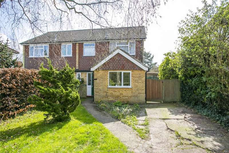 3 Bedrooms Semi Detached House for sale in Barretts Road, Dunton Green, Sevenoaks, Kent