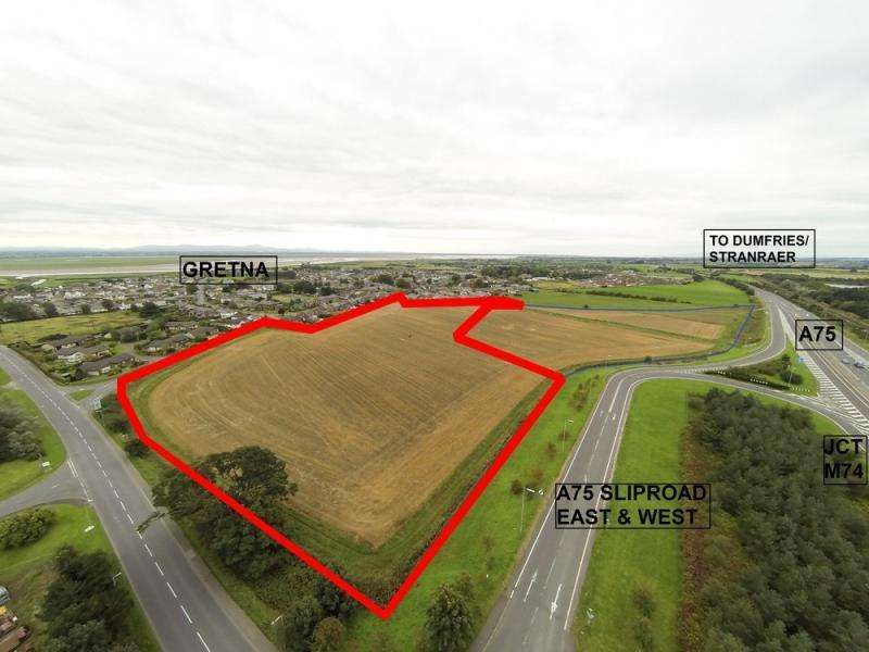 Land Commercial for sale in Victory Avenue, Gretna, Dumfriesshire