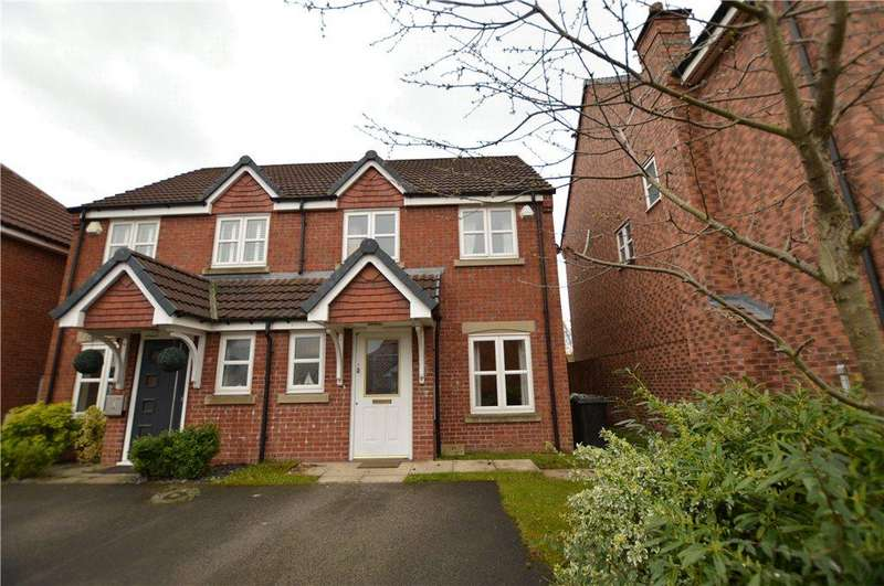 3 Bedrooms Semi Detached House for sale in St Davids Garth, Robin Hood, Wakefield, West Yorkshire