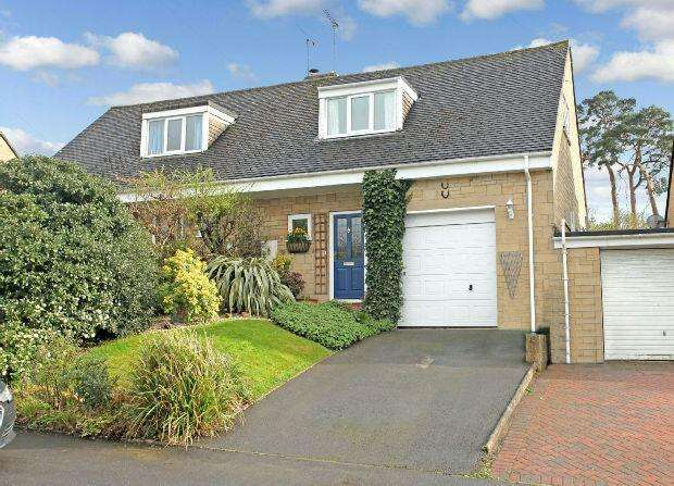 2 Bedrooms Semi Detached House for sale in Carson Close, Stretton On Fosse, Moreton-in-marsh