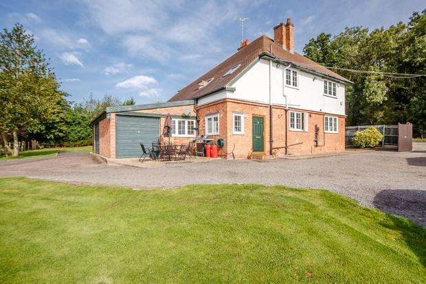 4 Bedrooms Detached House for sale in Loughborough Road, Shoby, Melton Mowbray, LE14