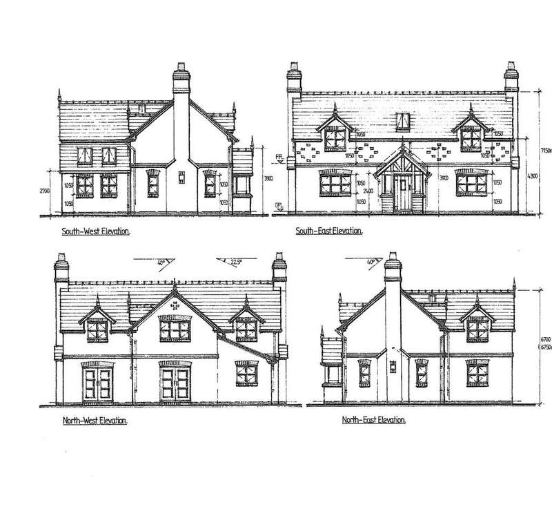 4 Bedrooms Detached House for sale in Church Road, Tilston, Malpas, Cheshire, SY14