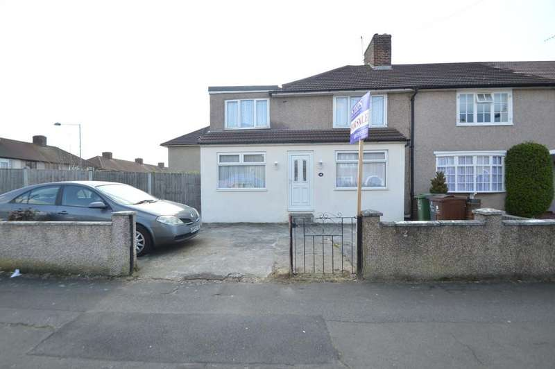 4 Bedrooms End Of Terrace House for sale in Carey Road, Dagenham