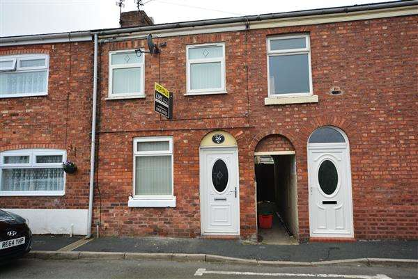2 Bedrooms Terraced House for sale in Geneva Road, Winsford