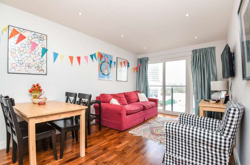 2 Bedrooms Apartment Flat for sale in The Sesame Apartments, Holman Road, Battersea, SW11