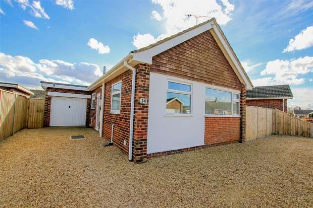 2 Bedrooms Detached Bungalow for sale in 14 South Moor Drive, Heacham