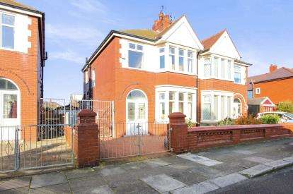3 Bedrooms Semi Detached House for sale in Hodgson Road, Blackpool, Lancashire, England, FY1