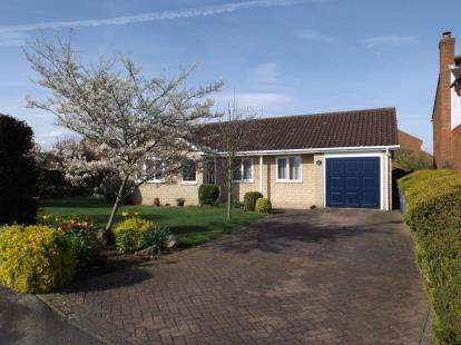 3 Bedrooms Bungalow for sale in St. Edwards Drive, Sudbrooke, Lincoln, Lincolnshire