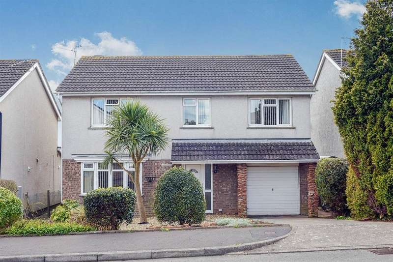 4 Bedrooms Detached House for sale in Glastonbury Road, Sully