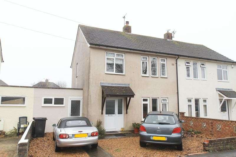 3 Bedrooms Semi Detached House for sale in Churchill Avenue, Clevedon