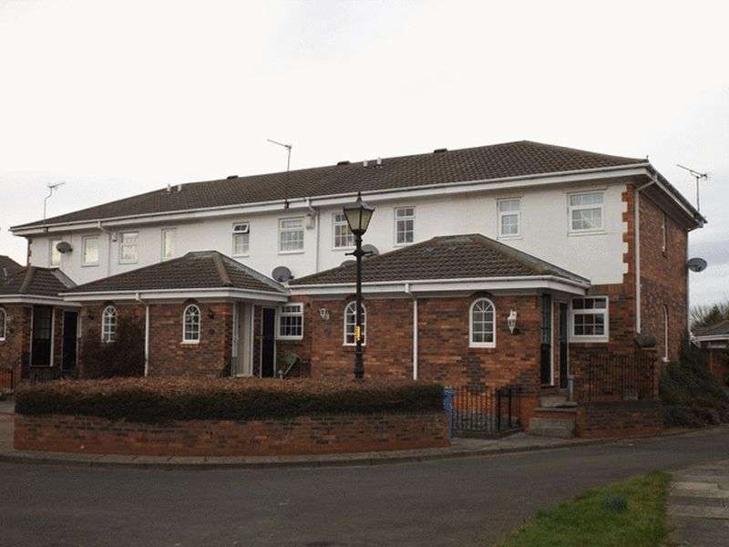 2 Bedrooms Terraced House for sale in The Mews, Merley Gate, Morpeth - Two Bedroom Mid link House