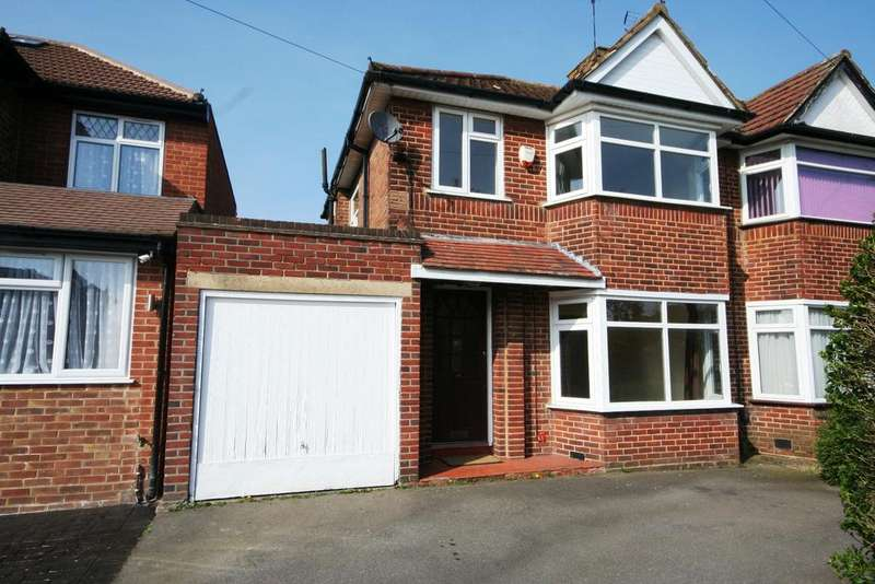 3 Bedrooms Semi Detached House for sale in Derwent Crescent, Stanmore HA7