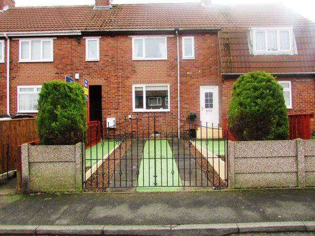 3 Bedrooms Terraced House for sale in TOFT CRESCENT, MURTON, SEAHAM DISTRICT