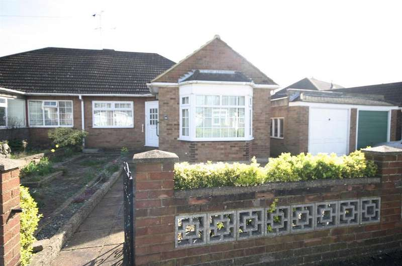 2 Bedrooms Semi Detached Bungalow for sale in Cranbrook Drive, Luton